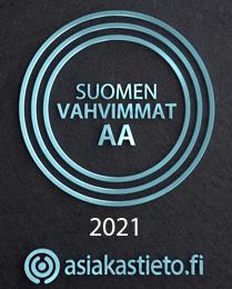 Suomen Vahvimmat AA logo
